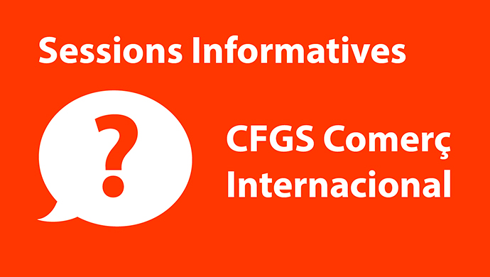 Inscriu-te a les sessions informatives