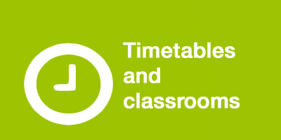 Timetables and classrooms