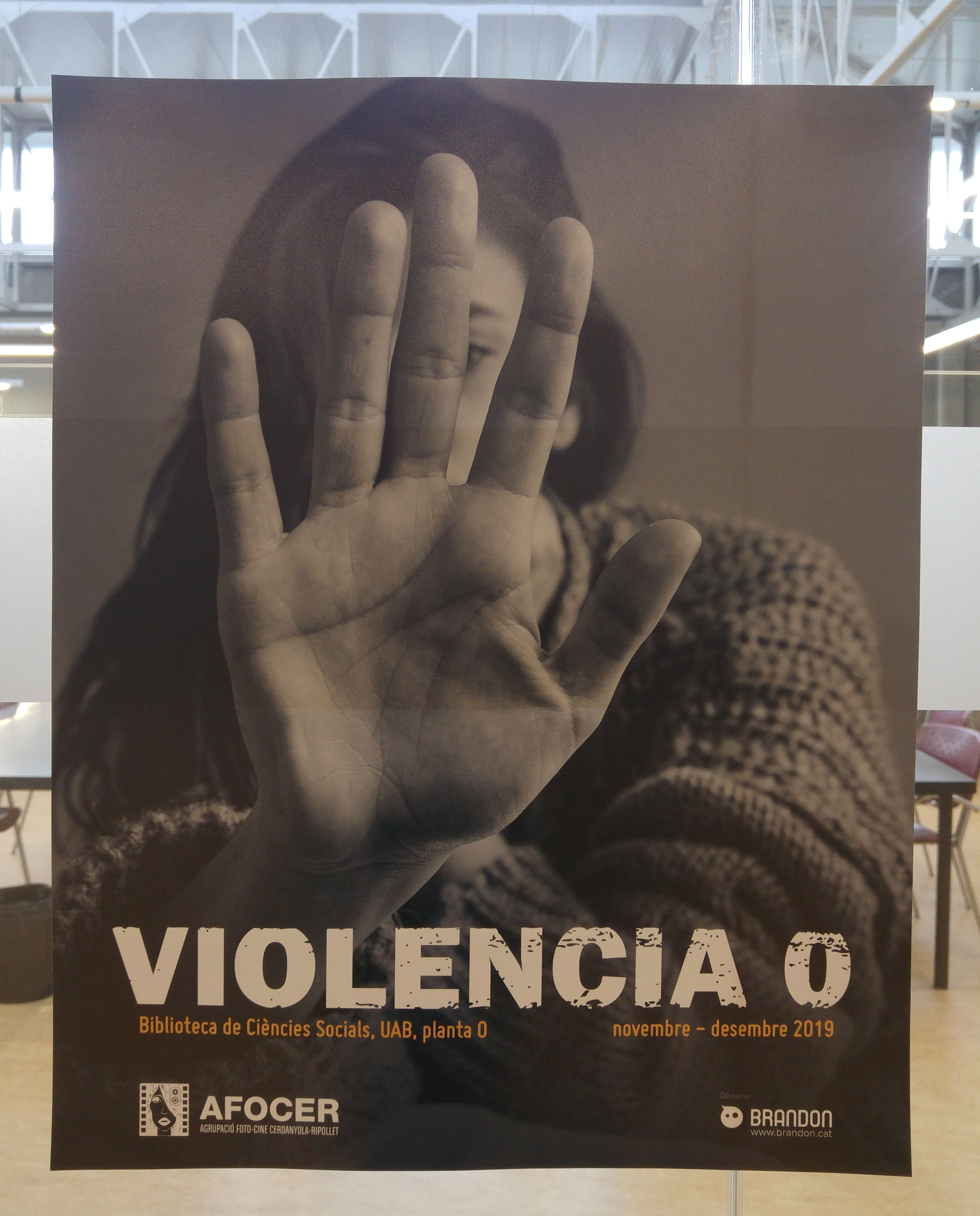 Image of the exhibition Violència 0