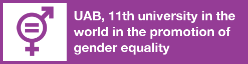11th university in the world in the promotion of gender equality