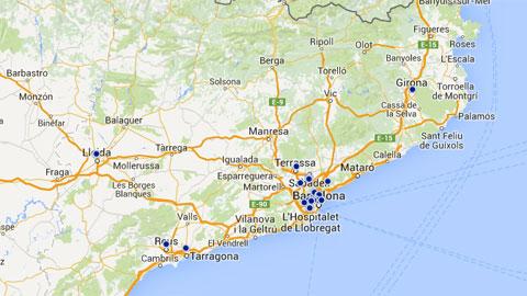 Map Of Neuroscience Research In Catalonia Universitat Autonoma