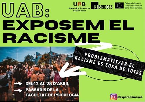 cartell amb gent manifestant-se
