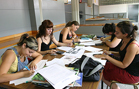Estudiants de la Facultat de Ci�ncies de l