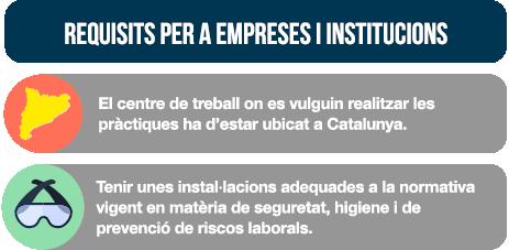 Requisits per a empreses i institucions