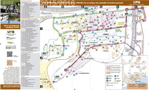 Maps Uab Barcelona