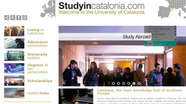 portal web Study in Catalonia