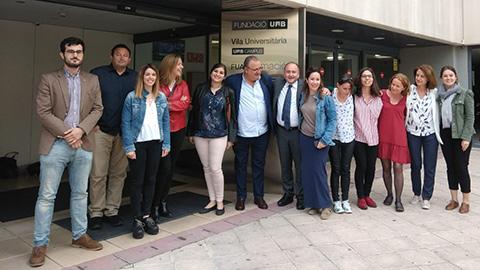 Membres del Fòrum de Normes Alimentàries QSA - EPSI FUAB
