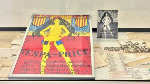 Cartell del festival 'Gespa Price' de 1975.