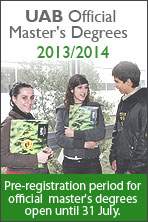 Official master's degree access and admission process 2013/2014
