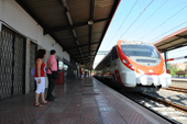 Estaci� de Renfe a Rub�.