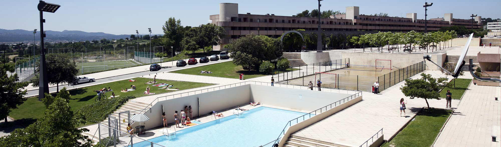 Vila Universit�ria, the residential hall of the UAB