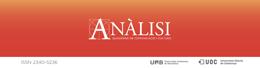 La revista Anàlisi. Quaderns de Comunicació i Cultura presenta su número 54