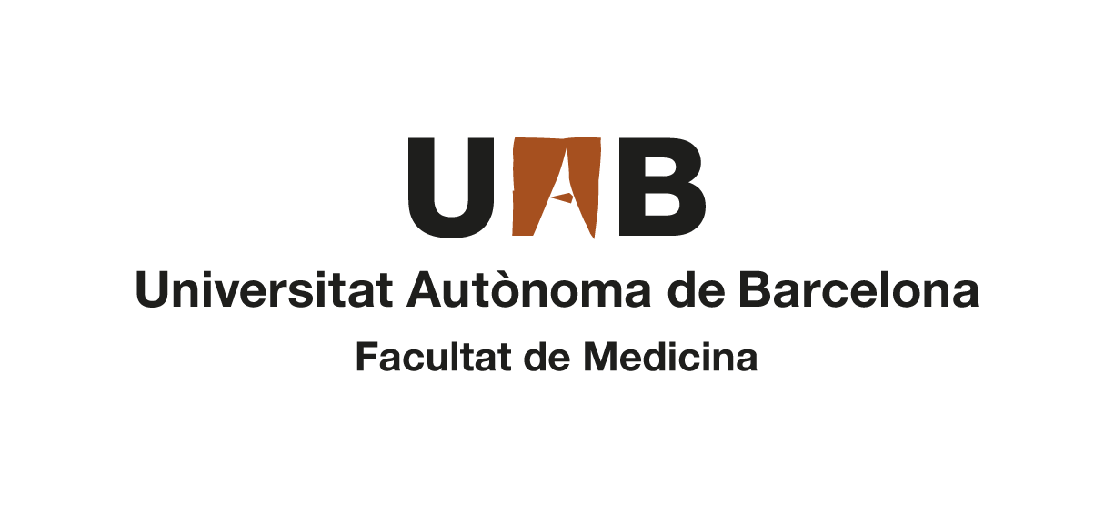 Logotip compost UAB Facultat Medicina en color