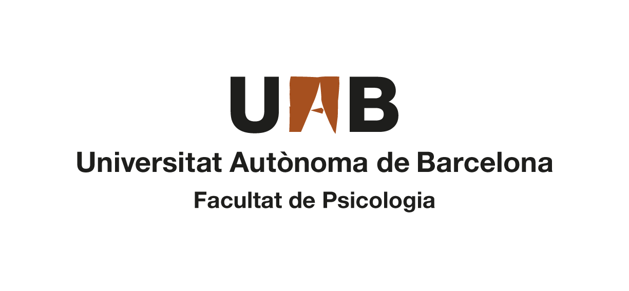 Logotip compost UAB Facultat de Psicologia en color
